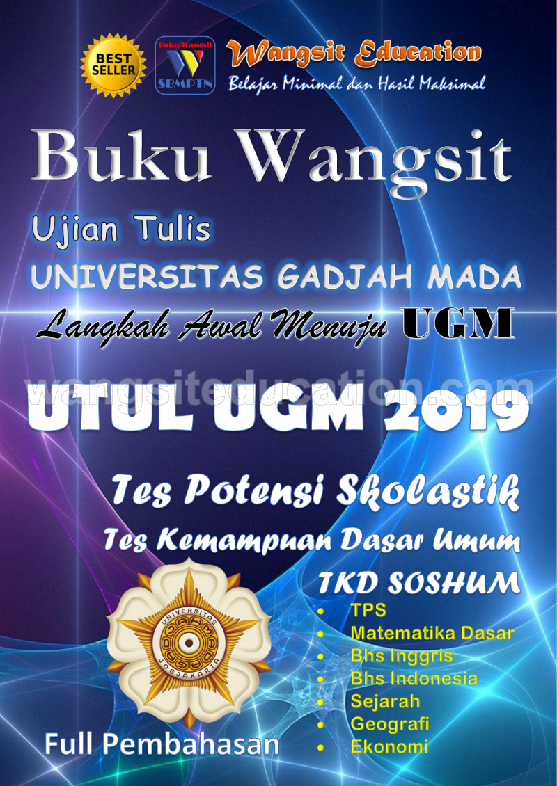 PAKET Buku Wangsit UM UGM 2019 Program IPS